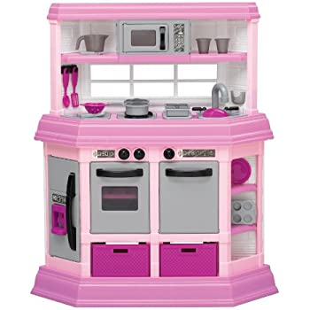 Pink Portable Kitchen Play Set Reviews