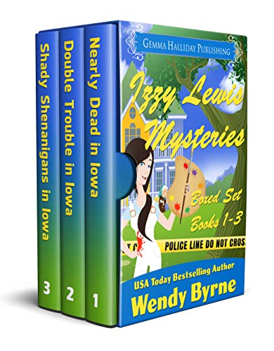 Izzy Lewis Mysteries Boxed Set (Books 1-3) by [Byrne, Wendy]