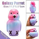 New!!ZYooh 1PC Galaxy Parrot Cream Squishy Super Jumbo Scented Slow Rising Rare Fun Toy (Mushroom)