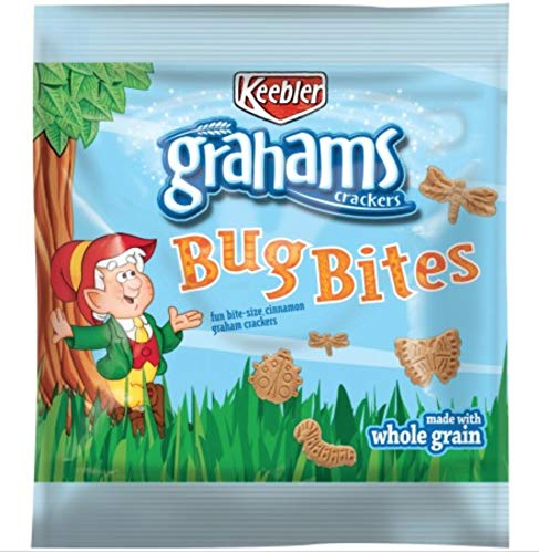 Keebler Grahams Bug Bites Snack Packs, 1 oz. (Set of ()
