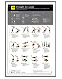 TRX Training All Body Advanced Strength Poster, Improve Body Strength