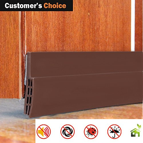 keeping fun Weather Stripping Doors Bottom Seal Under Door Draft Stopper Energy Saver And Insulation Gap Sealer Noise Reduction Soundproof Dustproof Seals, 2