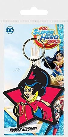 1art1® Wonder Woman - Super Hero Girls, DC Comics Llavero (6 ...