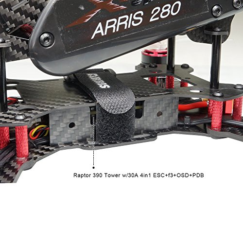 ARRIS-X-Speed-280-V2-FPV-Quadcopter-Racing-Drone-RTF-W-Flycolor-Raptor-390-Tower-4-in-1-30A-ESC-F3-OSD-PDB