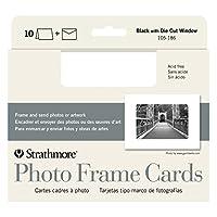 Tarjeta de felicitación Strathmore 105-185 Strath Photo Frame (paquete de 10), multicolor
