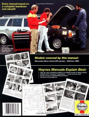 Mercedes-Benz Diesel 123 Series 76 - 85 Haynes Owners Workshop Manuals: Amazon.es: Larry Warren, J. H. Haynes: Libros en idiomas extranjeros