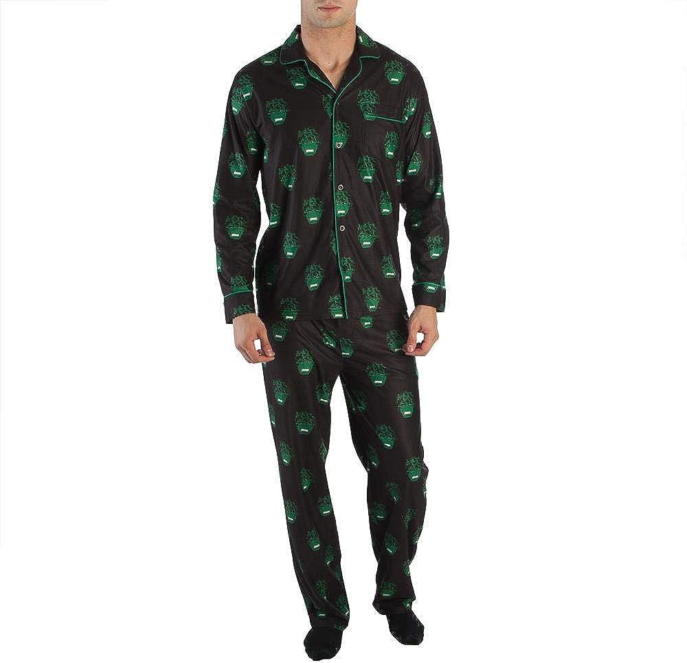 XL Marvel Avengers Mens The Hulk All Over Print Pajama Set Sleepwear New M L