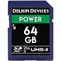 Delkin DDSDG200064G Devices 64GB Power SDXC UHS-II (U3/V90) Memory Card