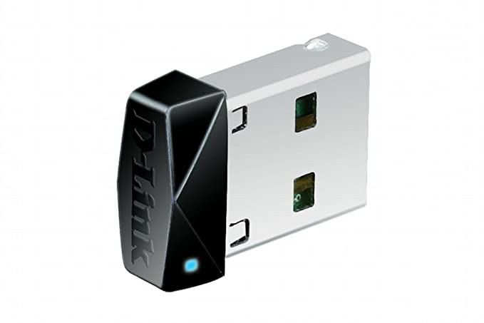D-Link DWA-121 Wireless N 150 PICO USB Adapter (Black) Wireless USB Adapters at amazon