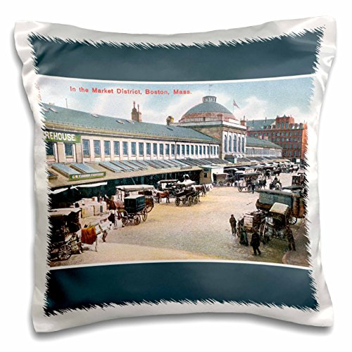 bln-vintage-us-cities-and-states-postcards-in-the-market-district-boston-mass-carriages-with-horses-