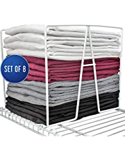 TitanSecure Closet Organizer and Storage for Wire Shelving