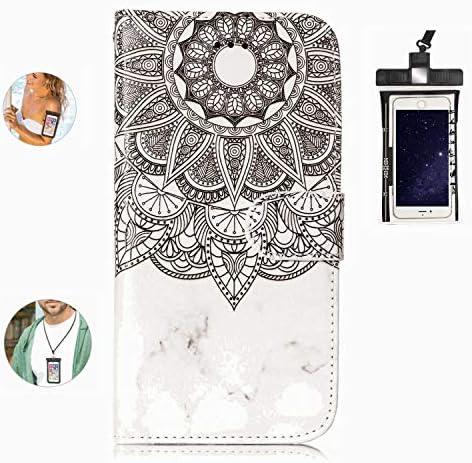 耐汚れ 耐摩擦 iPhone XS ケース 手帳型 本革 レザー カバー 財布型 スタンド機能 カードポケット 耐摩擦 全面保護 人気 アイフォン[無料付防水ポーチケース]