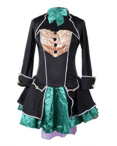 Mad Hatter Fancy Dress Costume by Emma's Wardrobe - Includes Strapless Dress, Jacket, Hat and Bowtie - Beautiful Alice in Wonderland Costume for Halloween and Tea Parties - UK Size (Strapless Emma Dress)