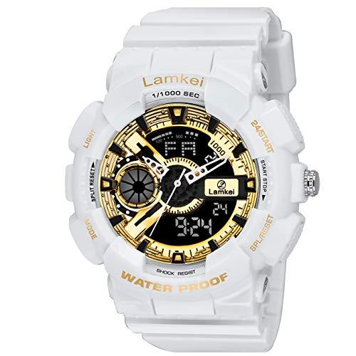 2cc3da77c7da Lamkei LMK-0181 Digital Watch for Men – Fashion Luxury Casual ...
