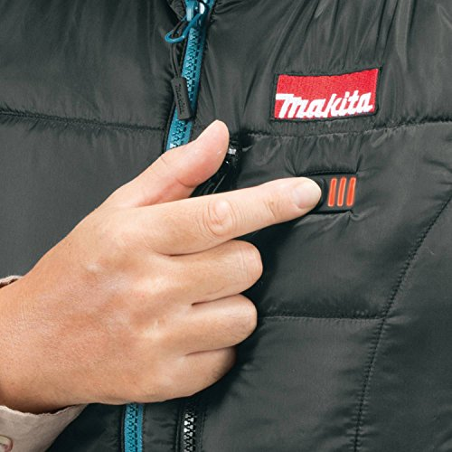 Makita DCV200ZL 18V LXT Lithium-Ion Cordless Heated Vest Only, Large, Black by Makita (Image #3)
