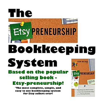 bookkeeping spreadsheet for etsy sellers crafting businesses vintage sellers and small business owners