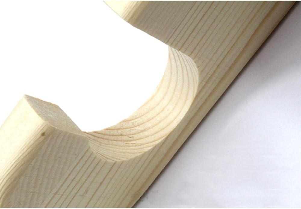 54/×52CM Accessoires de Snooker Billards Porte-Queues Peut Contenir 6 Queues 6 trous XGGYO Support de Queue de Billard Mural Bois Massif