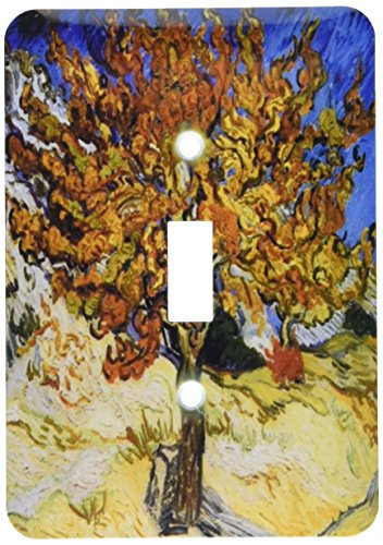 - 3dRose lsp_48249_1 Van Gogh Mulberry Tree Light Switch Cover