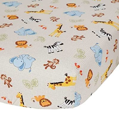 Jungle Buddies Crib Sheet by Bedtime Originals