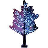 Hi-Line Gift Ltd. 39020-WT 102-Inch high LED Indoor/ outdoor Lighted Trees with 624 LEDS, White