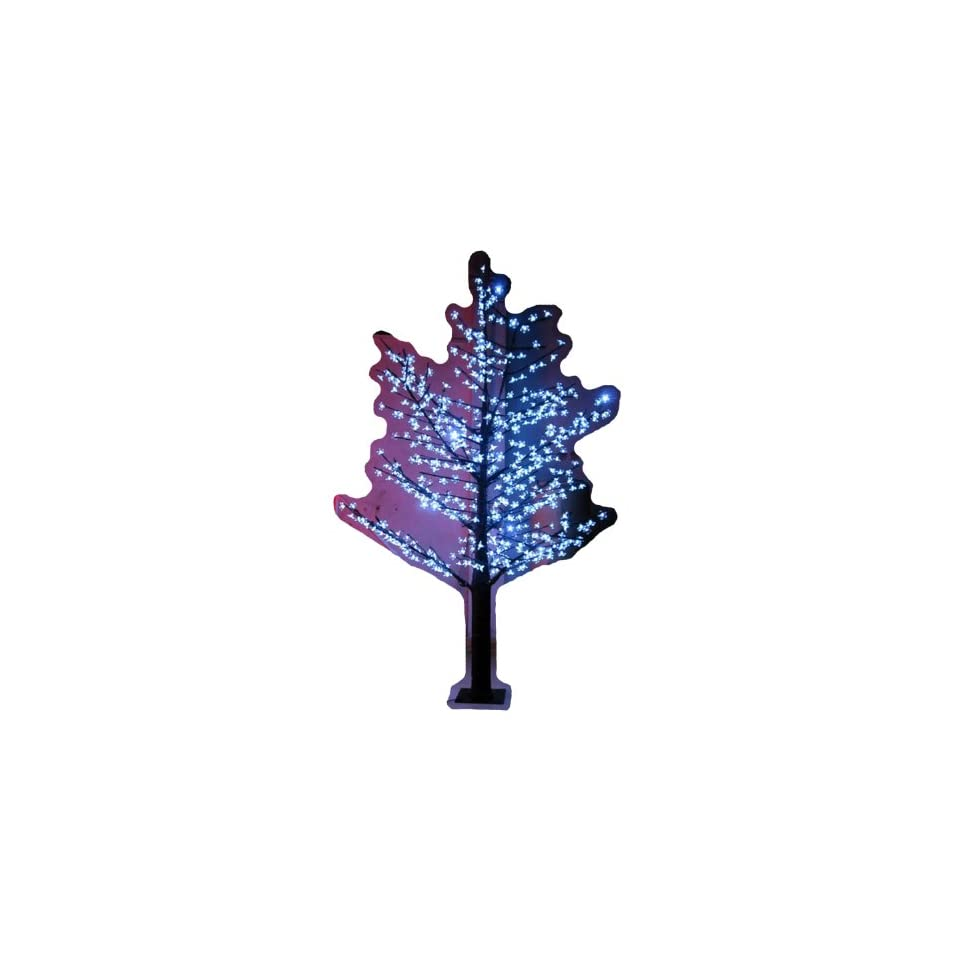 Hi Line Gift Ltd. 39020 WT 102 Inch high LED Indoor/ outdoor Lighted Trees with 624 LEDS, White
