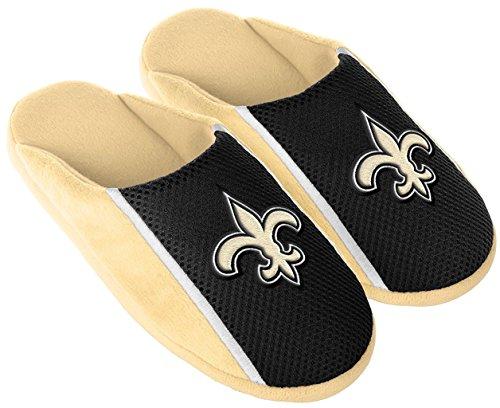New Orleans Saints Mens Slipper - 6