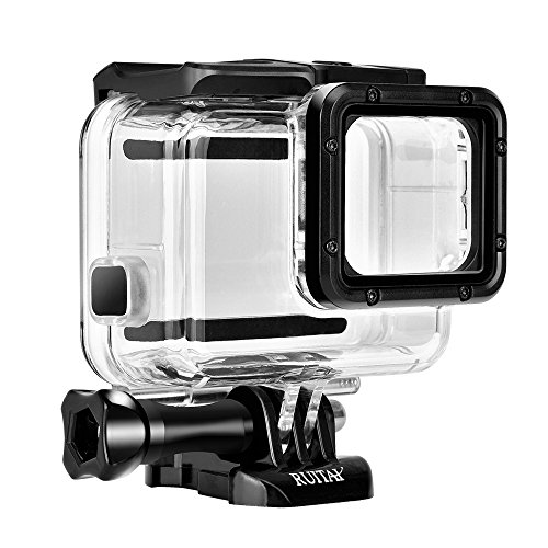 Clear Replacement Dome Cover (Waterproof Housing, RUITAI Diving Housing Protective Case for Gopro Hero 5 Black Sport Camera-Underwater 45 Meters)