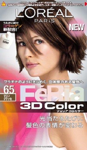 nihon-loreal-feria-3d-hair-color-shine-moist-technology-65-marron-glac-japan-import