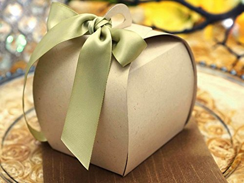 UPC 711730771794, BalsaCircle 100 pcs 3.5-Inch Natural Unique CupCake Purse Favor Boxes for Wedding Party Birthday Candy Decorations Supplies