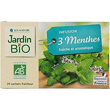 organic garden organic infusion three mints 30g unit price jardin bio infusion - Jardin Bio