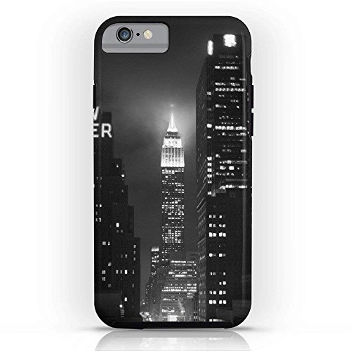 Customize Phone Protective Cover Empire State Building At Night Ultra Slim TPU Soft Rubber Silicone Cover Phone Case for iPhone x