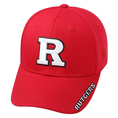 Top of the World NCAA-Premium Collection-One-Fit-Memory Fit-Hat Cap-Rutgers Scarlet Knights