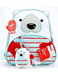 Zoo Little Kids Backpack Polar Bear