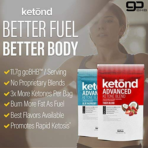 Ketond Advanced Ketone Supplement - 11.7g of goBHB per Serving (30 Servings) - #1 Rated BHB (Beta-HydroxyButyrate) Supplement for Weight Loss, Increased Energy, Focus & Fat Loss (Citrus Mango) by Ketond Nutrition (Image #3)