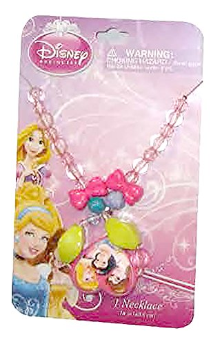 [Disney Girls Princesses Dress Up Jewelry - Bead Necklace] (Maleficent Toddler Costumes)