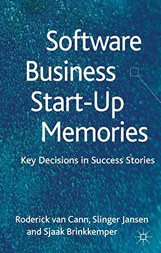 Software Business Start-up Memories: Key Decisions in Success Stories by Brand: Palgrave Macmillan