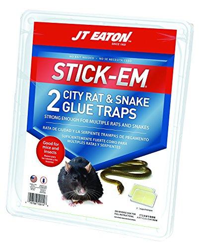 JT Eaton 100N-6 Stick-Em City Rat and Snake Glue (Stick Em Rat)
