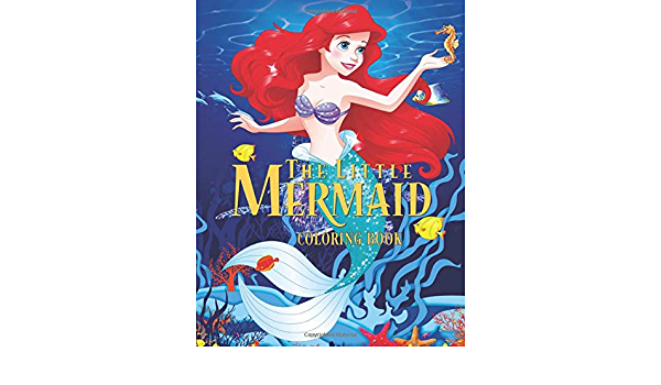 The Little Mermaid Coloring Book: High Quality Coloring Book For Kids Ages  3-12: Diaz, Avery: 9781707674510: Amazon.com: Books