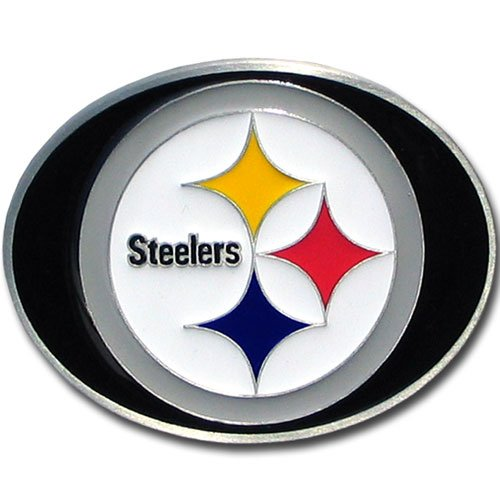 Logo Belt Buckle Buckles (NFL Pittsburgh Steelers Logo Buckle)