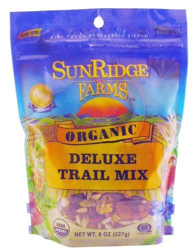 (Sunridge Farm, Trail Mix Deluxe, 8-Ounce by SunRidge Farms)
