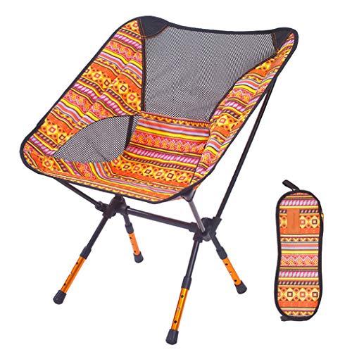 Camping Chair, Perfekt FüR Camping, Strand, Backpacking & Outdoor Festivals Klappbarer Campinghocker Mit Leichtem Backpacking Und Tragetasche Atmungsaktiv Bequem