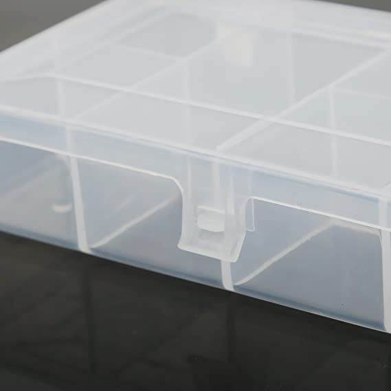 MagiDeal Bo/îte de Rangement de P/êche en Plastique pour Attirail Hame/çon Leurres