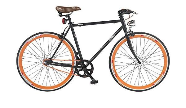 28 pulgadas Gloria Magenta Fixie Bicicleta: Amazon.es: Deportes y aire libre