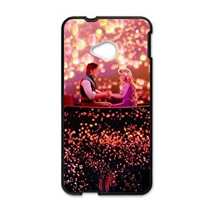 Happy Frozen shiny scenery romantic couple Cell Phone Case for HTC One M7