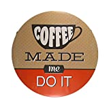 DL-Kitchen wall decor coffee made me do it wall sticker suite for coffee shop restaurant decor