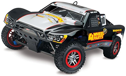 Traxxas Slayer Pro 4X4: 1/10-Scale Nitro-Powered 4WD Short Course Racing Truck with TQi 2.4GHz Radio & TSM, Adler