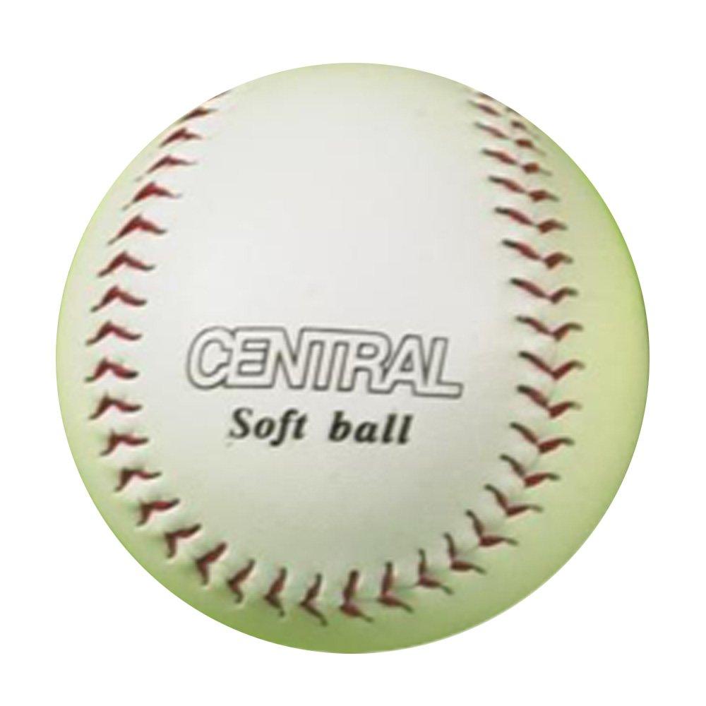 中央Rounderスポーツ合成レザーのトレーニングソフトボールボール B015FWOU8A