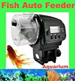 Signstek Mini Digital Automatic LCD Aquarium Fish Tank Pond Food Feeder Timer