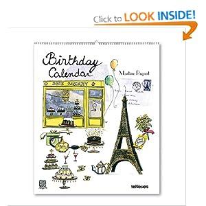 2014 Martine Rupert Vertical Birthday Calendar Martine Rupert