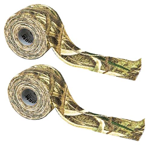 Mo Shadow Grass - McNett 2 Pack Camo Form Shadow Grass Reusable Heavy-Duty Fabric Wrap